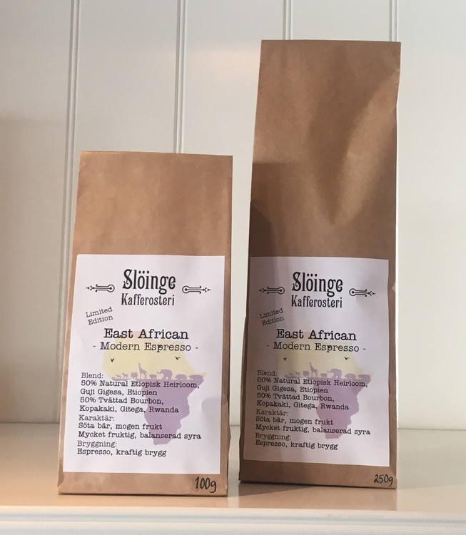 Slöinge kafferosteri East African Modern Espresso 100g