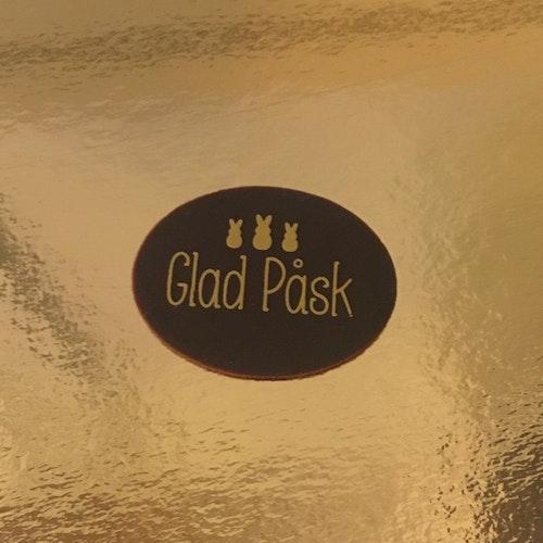 GLAD PÅSK (Dekoration i Choklad)