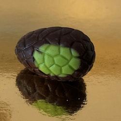 Chokladägg Mörkchoklad 72,5% med kakaobitar
