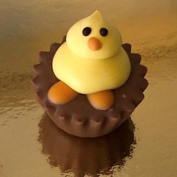 Cupcake Kyckling (INNEHÅLLER NÖTTER)