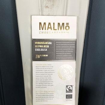 Malmö Choklad Dominikanska Republiken 70% Ekologisk