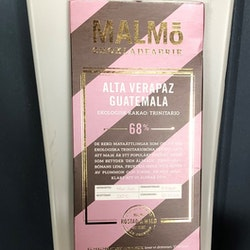 Malmö Choklad Alta Verapaz Guatemala 68 % Ekologisk