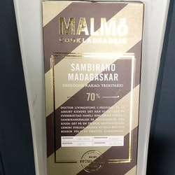 Malmö Choklad Sambirano Madagaskar 70% Ekologisk