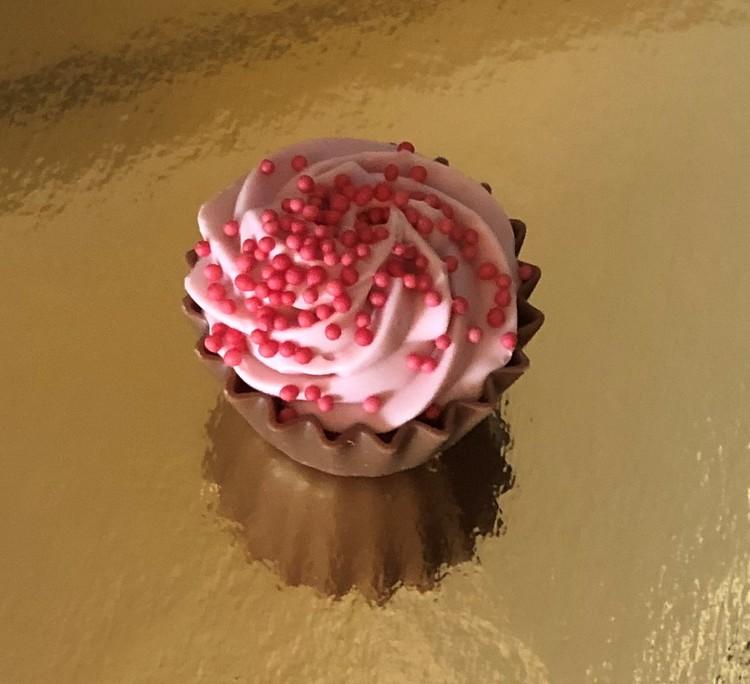 Jordgubbs Cupcake (INNEHÅLLER GLUTEN)