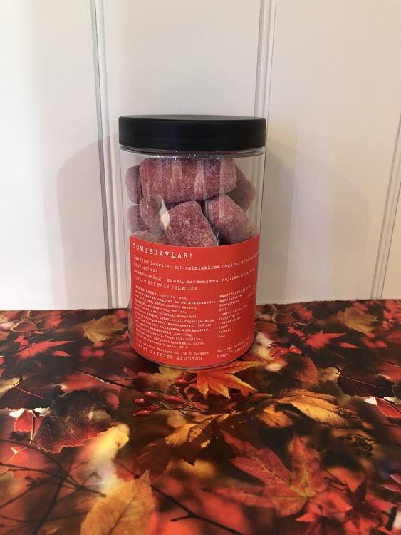 Tomtejävlar ~ Världens saltaste lakrits möter pepparkakskryddor 250g