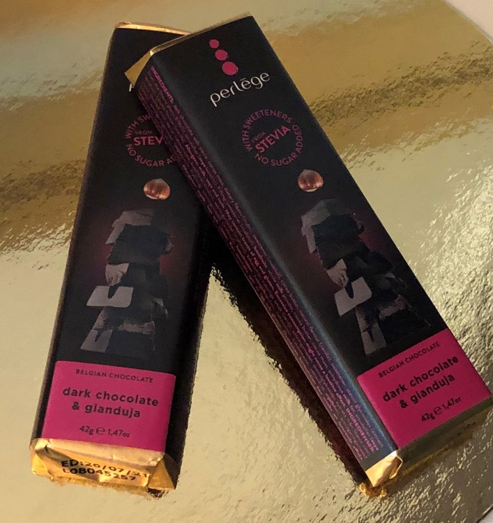 Perlege Sockerfria Mörk choklad & Gianduja