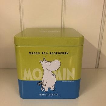 Mumin Te Green Tea Raspberry