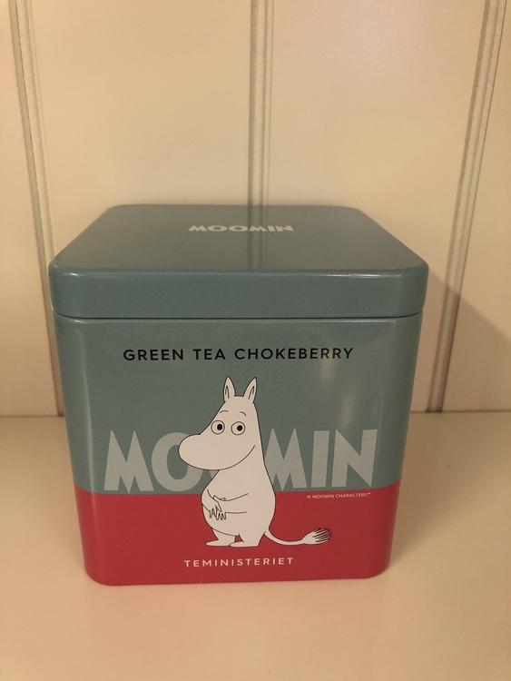 Mumin Te Green Tea Chokeberry