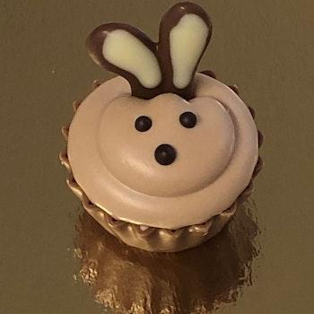 Hare i  Cupcake OBS!! Passar endast i vit förpackning!!