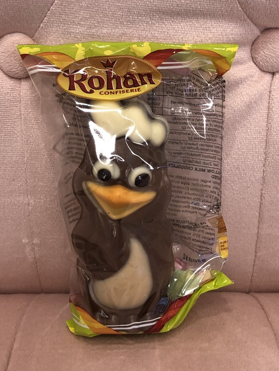 Påskfigur Kyckling 60g  Enstycksförpackad