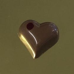 Vår egen: Jordgubbshjärta (mjölkchoklad)