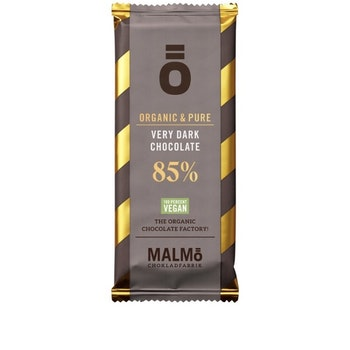 Malmö Choklad: 85% kakaohalt Ekologisk