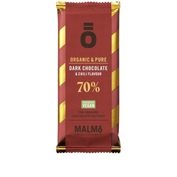Malmö Choklad: 70% Chili