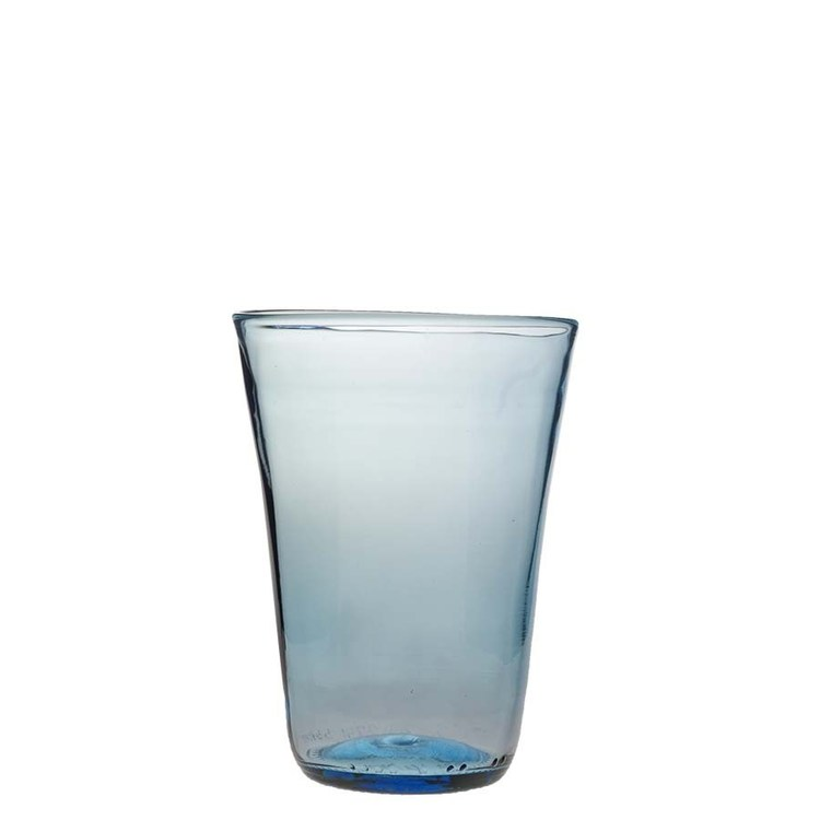 Stapelbara glas ljusblå
