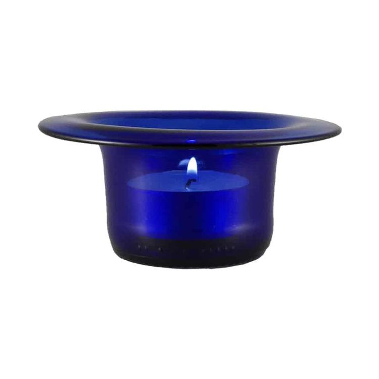 Ljuslykta - blå