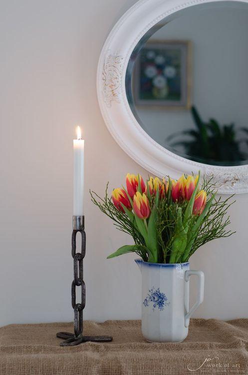 Kättingljusstake 27 cm