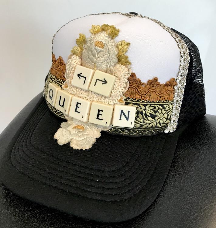 Keps Queen - svart