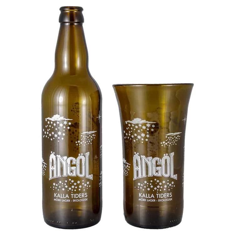 Ölglas Ängöl Kalla tiders