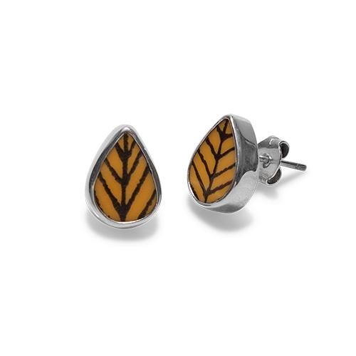 Arbour harbour yellow earrings
