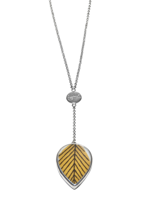Arbour harbour yellow necklace