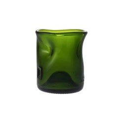 Dricksglas Shrunken Grön