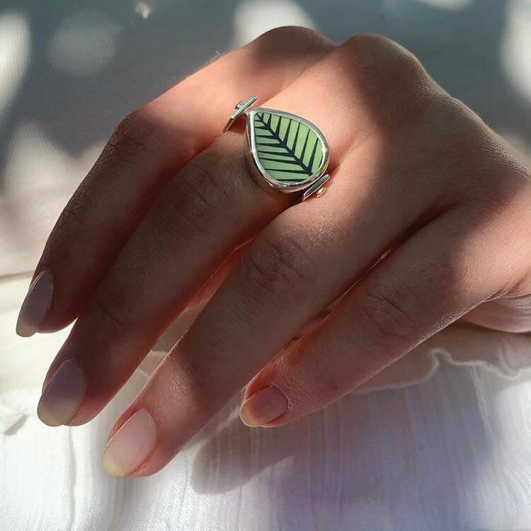 Berså / Mon Amie - Vändbar ring
