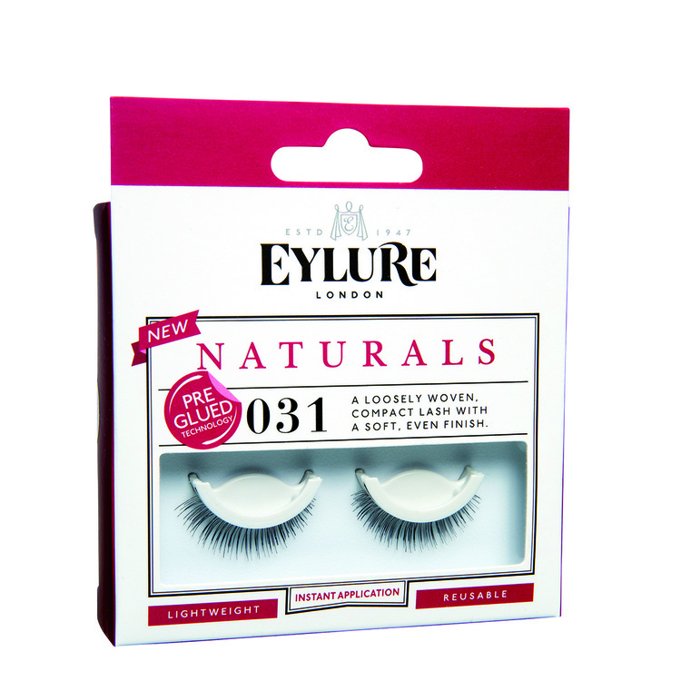 Eylure Lashes Pre Glued Naturals 031 Black