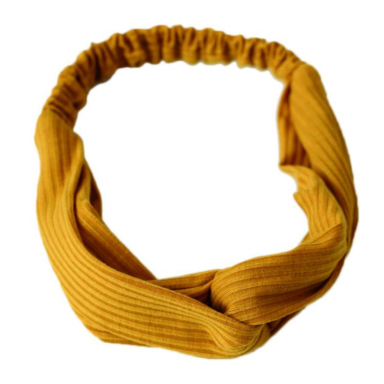 Annemone - Headband Mustard