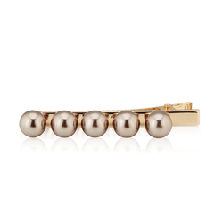 Mikka - Hairclip With Champagne Pearls
