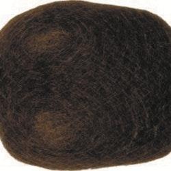 Hårutfyllnad 13x10cm Mörkbrun (121)