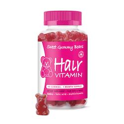 Sweet Gummy Bears Hair Vitamins 60 st
