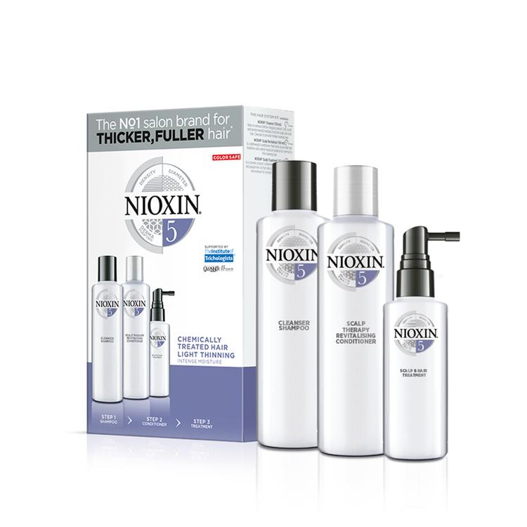 NIOXIN SYSTEM 5. Blekt hår & lätt håravfall. 700 ml