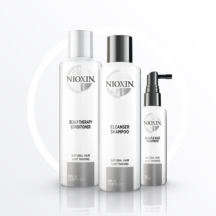 NIOXIN SYSTEM 1. Naturligt hår & lätt håravfall. 350 ml