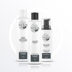NIOXIN SYSTEM 2. Naturligt hår & märkbart håravfall. 350 ml