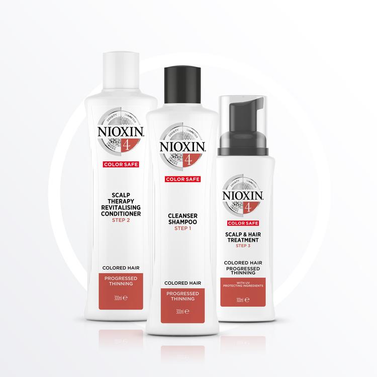 NIOXIN SYSTEM 4. Färgat hår & märkbart håravfall. 350 ml
