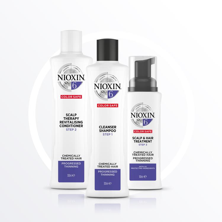 NIOXIN SYSTEM 6. Blekt hår & märkbart håravfall. 350 ml