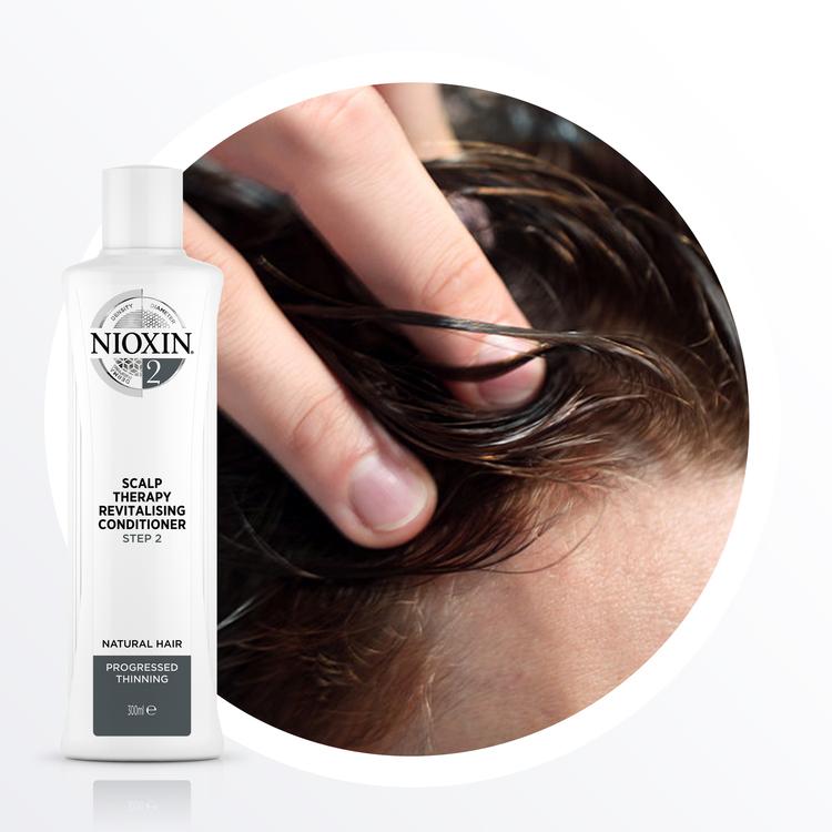 NIOXIN SYSTEM 2. Naturligt hår & märkbart håravfall. 700 ml