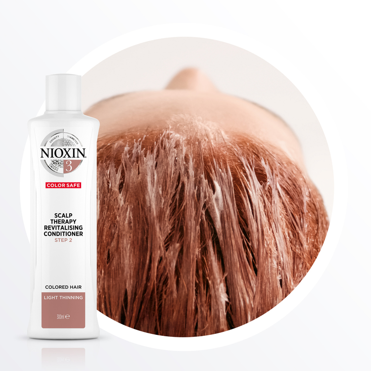 NIOXIN SYSTEM 3. Färgat hår & lätt håravfall. 700 ml