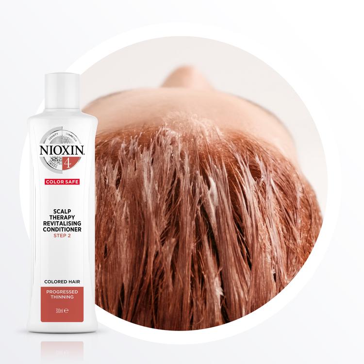 NIOXIN SYSTEM 4. Färgat hår & märkbart håravfall. 700 ml