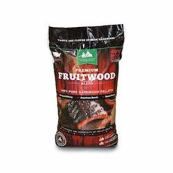 12,7 kg GMG Premium Fruitwood Blend. ( Mix av cherry, beech, and pecan )
