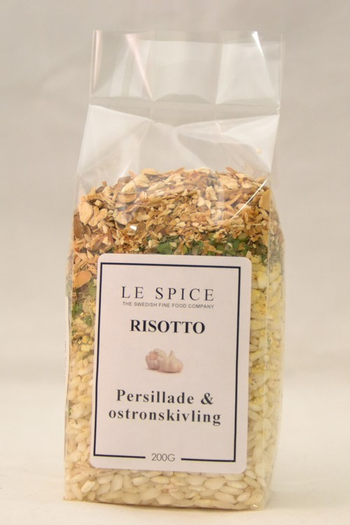 Risotto, Persillade & Ostronskivling