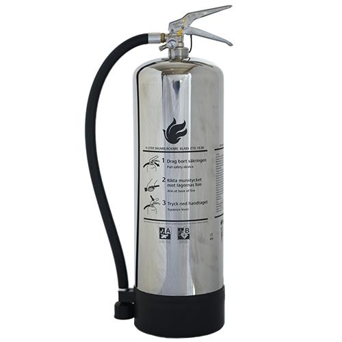 Brandsläckare skum 9 liter rostfri Dafo
