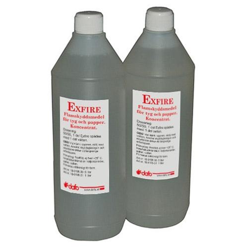 Flamskyddsmedel Exfire Tyg 1L flaska