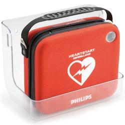 Väggfäste i plexiglas till hjärtstartare Philips HS1