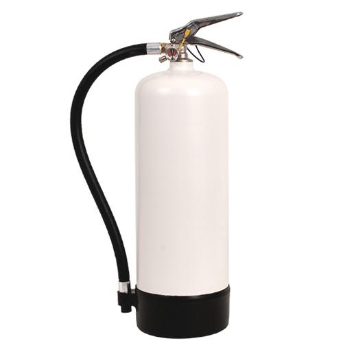 Brandsläckare pulver 6 kg vit, Dafo typ PK 6 HV