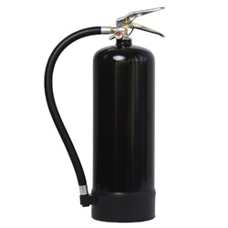 Brandsläckare pulver 6 kg svart