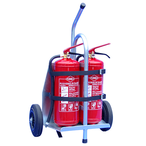 Kärra brandfarliga arbeten modell inkl filt & handske