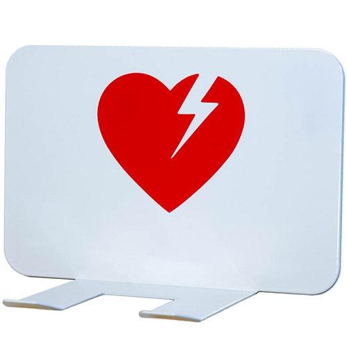Väggfäste till hjärtstartare CR2, vit