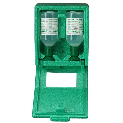 Ögonsköljstation Plum, 2 fl. frigolitbox
