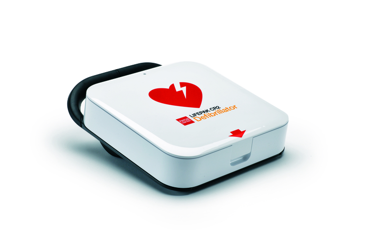 Hjärtstartare Lifepak CR 2, Wi-Fi, Tvåspråkig